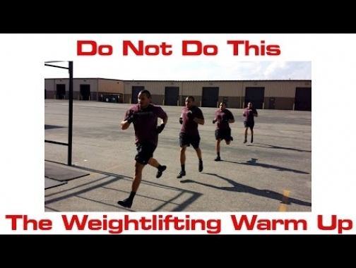 How to Warm Up for Weightlifting