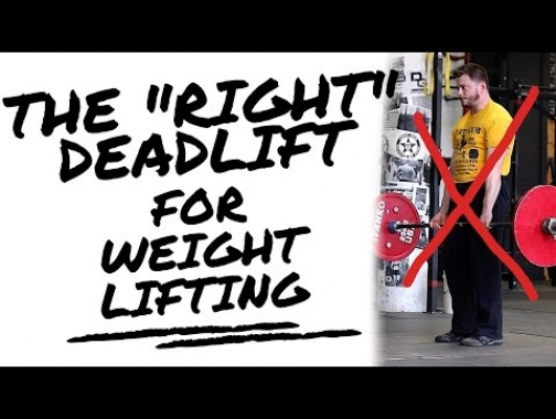 A Traditional Deadlift Will Not Help Your Clean!