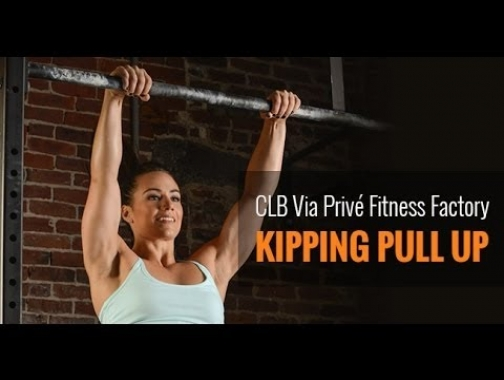Camille Leblanc-Bazinet - How to master the Butterfly Kipping Pull Up? CLB Via Privé Fitness Factory