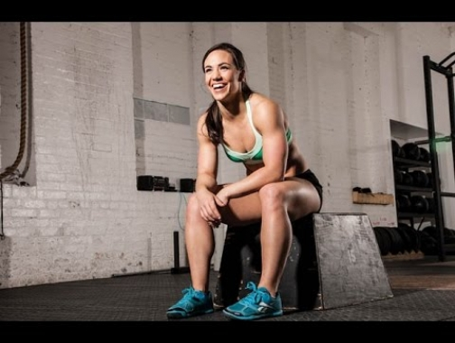 Camille Leblanc Bazinet [238# Clean and Jerk] 2014