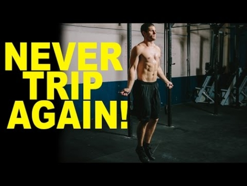 HOW TO do Double Unders  and stop tripping on the rope!