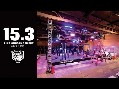 Julie Foucher and Lauren Brooks Open Workout 15.3 throw down