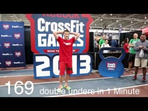 1 Minute Double Under World Record