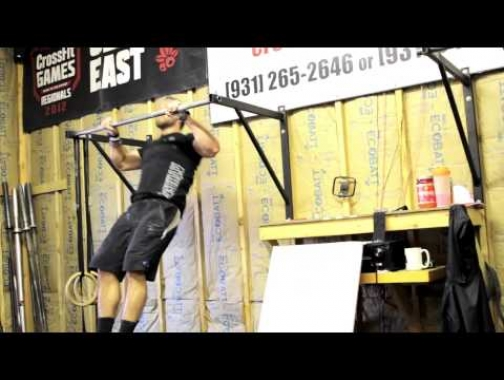Wednesday Workout - Bench Press, Pullup with Rich Froning