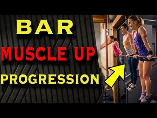 Bar Muscle Up Tutorial (Simple 4-Step WODprep Progression)