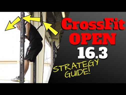 CrossFit Games Open 16.3 Strategy Tips (Official WODprep)