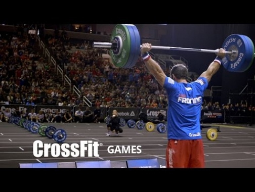 Rich Froning Snatches 305 lb. at the CrossFit Invitational