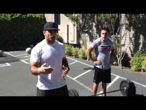 Quick tips on the dead lift with Jason Khalipa