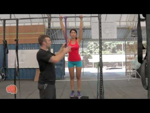 How To Use Resistance Band for Pull Up Progression - WOD Nation coach Barry @ CrossFit Chiang Mai