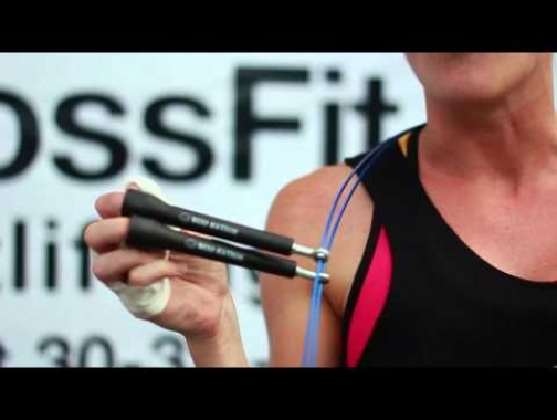 CrossFit competitor Claire WOD Nation Jump Rope Review