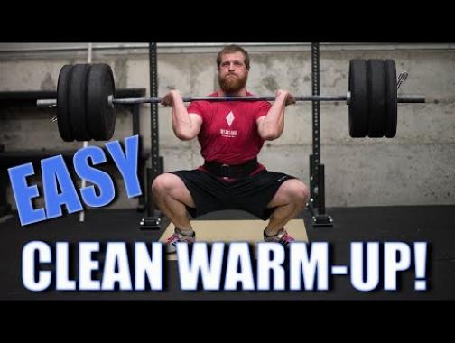 Great Barbell Clean Warm-up (WODprep Tutorial)