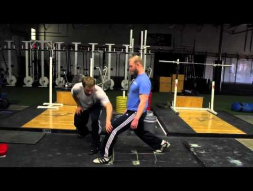 TechniqueWOD - An Easy Way To Know Exactly Where To Land On Your Split Jerk