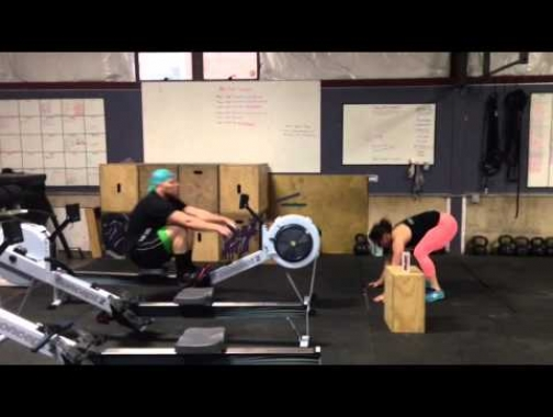 CrossFit Gambit 1k Row Vs 75 Burpees