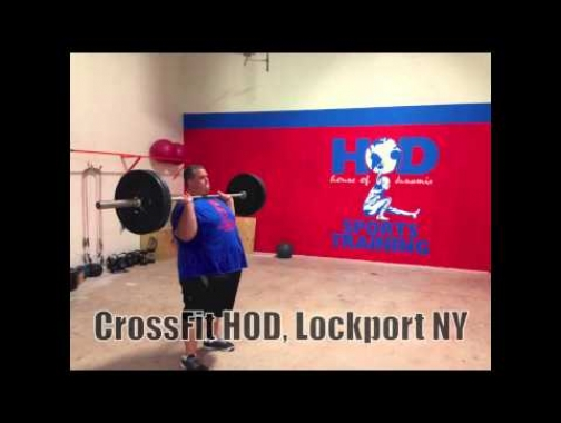 CrossFit Transformation Weight Loss