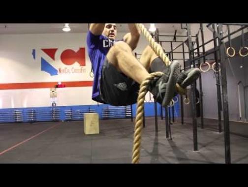 Rope climbing techniques with Jason Khalipa