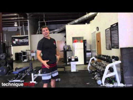 How to do a Dumbell Snatch  - Technique WOD