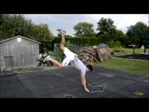 How to do the double-under frog jump rope trick