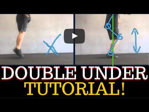 Double Under Tutorial:  DONKEY KICK VS  PO-GO STICK