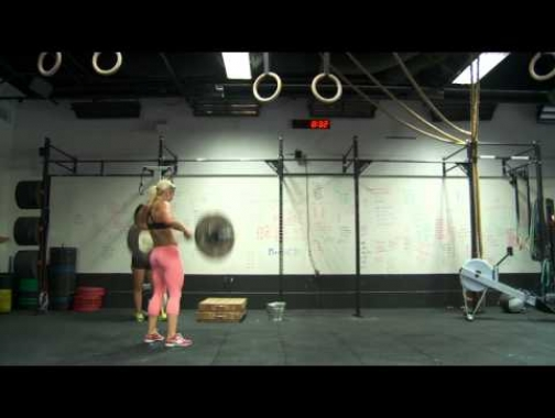 "Brooke Ence CrossFit Games Open 14.4- ""don't F$#*k this up"""
