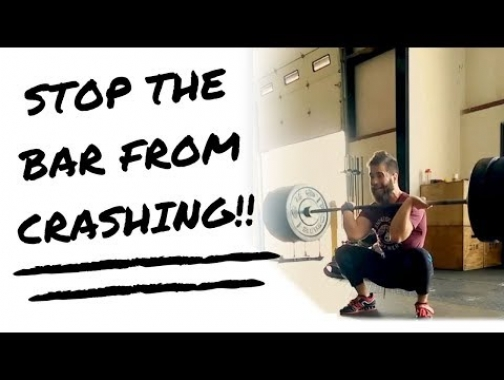 Stop the Bar From Crashing - Snatch and Clean