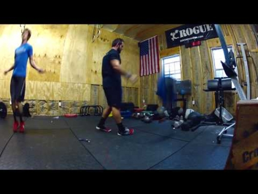 Rich Froning Wednesday Workout - Shoulder to OH, DU, Muscle up