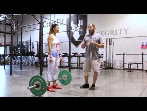 How to power clean with ease. Best Power Clean form EVER