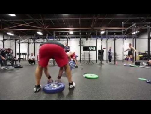 RICH FRONING and JASON KHALIPA Team  Snatch Workout 2014