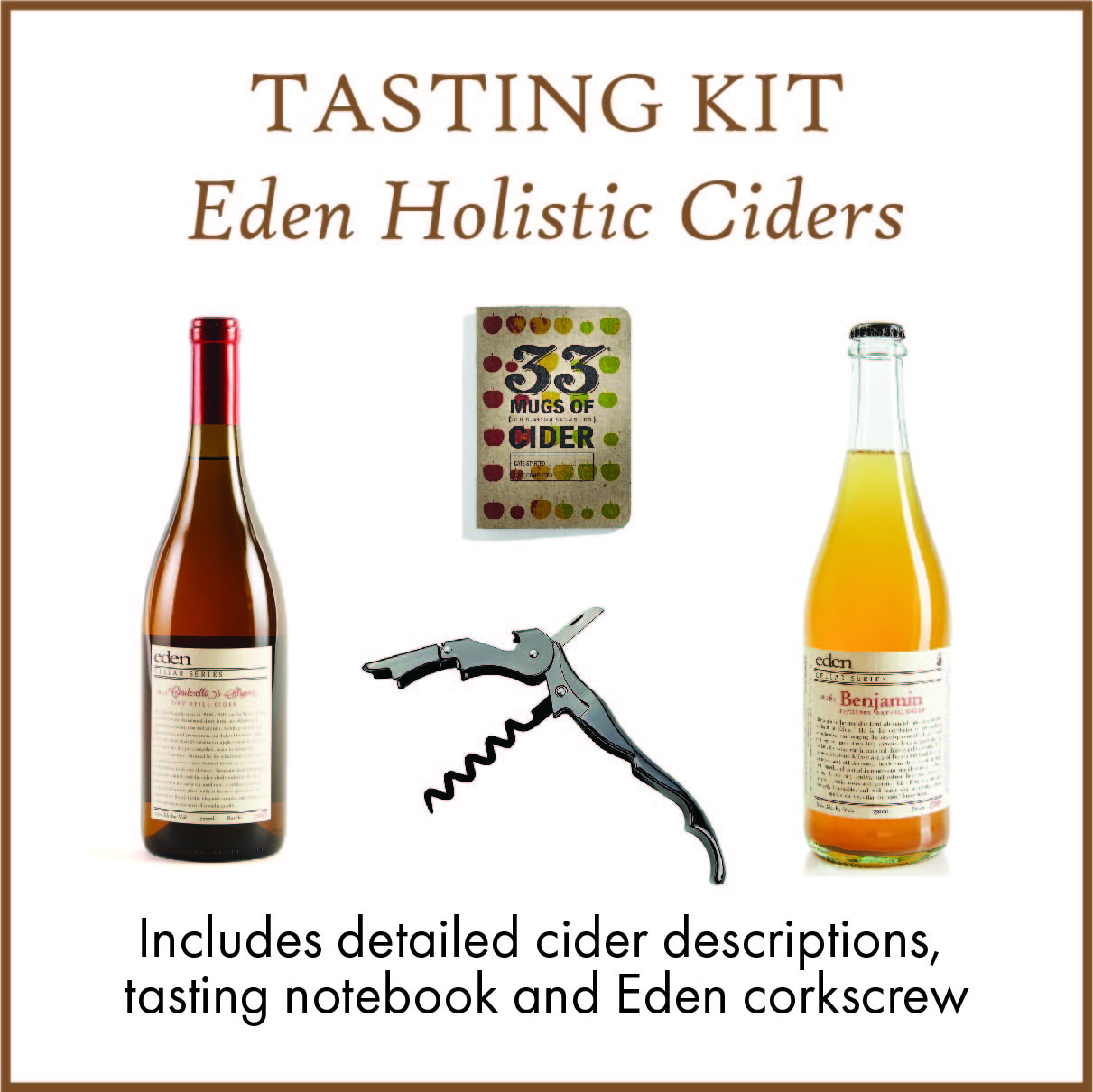 Tasting Kit - Eden Holistic Ciders