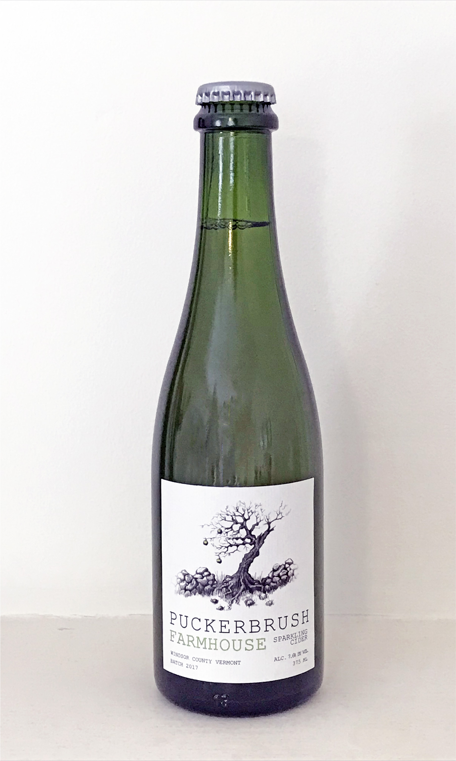 Puckerbrush Farmhouse Cider 375ML