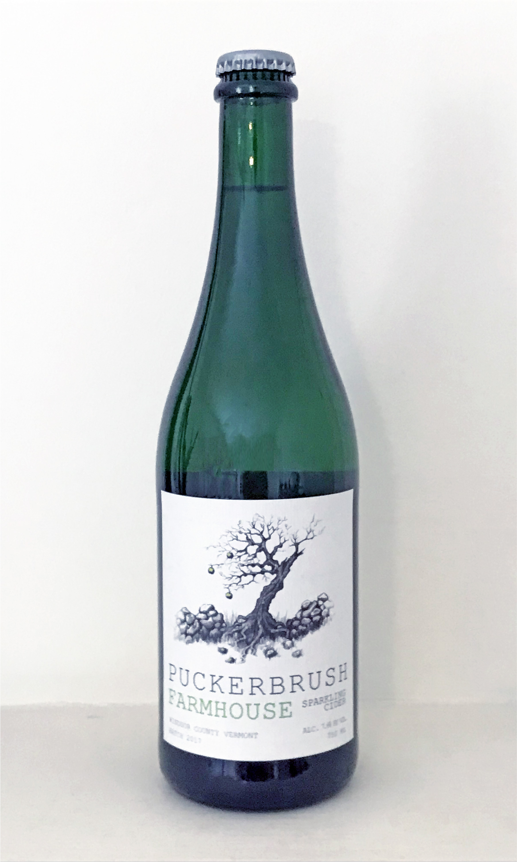 Puckerbrush Farmhouse Cider 750ML