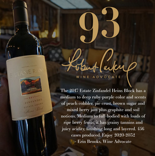 2017 Heins Block Estate Zinfandel