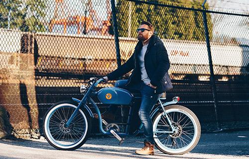 Vintage Iron Cycles e bikes Vancouver