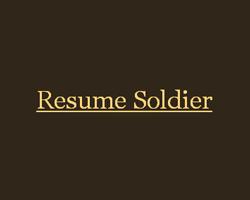 Resume Soldier