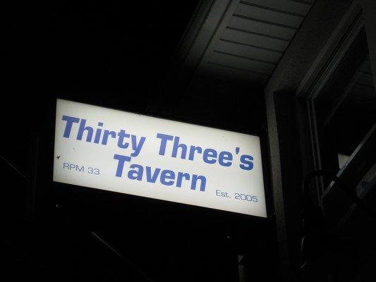 33s Tavern
