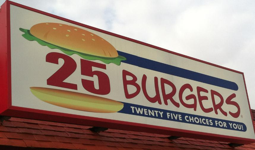 25 Burgers Branchburg