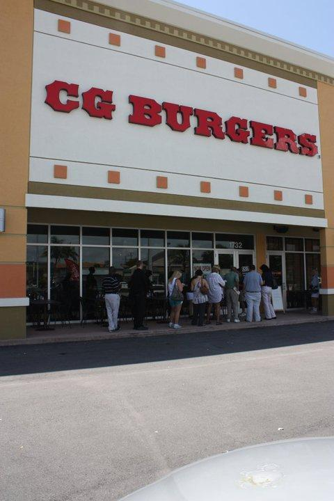 CG Burgers at City Center