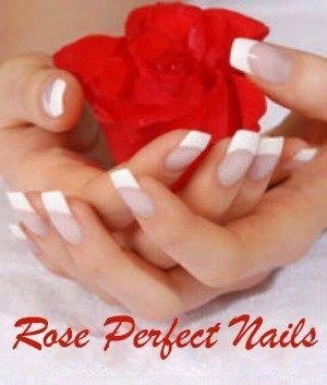 Rose Perfect Nails