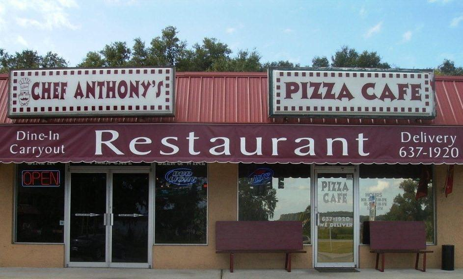 Chef Anthonys Pizza Cafe