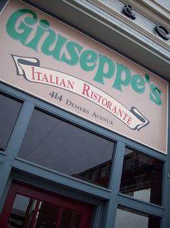 Giuseppes Italian