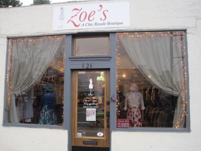 Zoes A Chic Resale Boutique