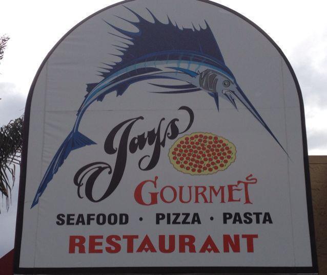 Jays Gourmet Seafood Pizza