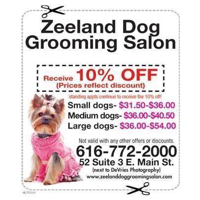 Zeeland Dog Grooming Salon