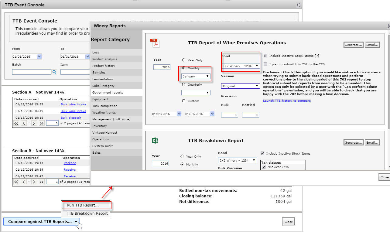 generate related reports 2
