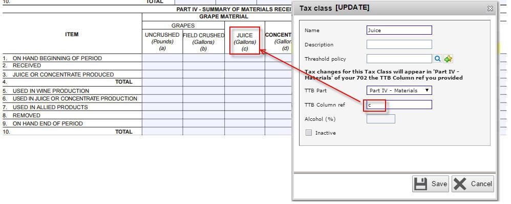 Juice tax class 2