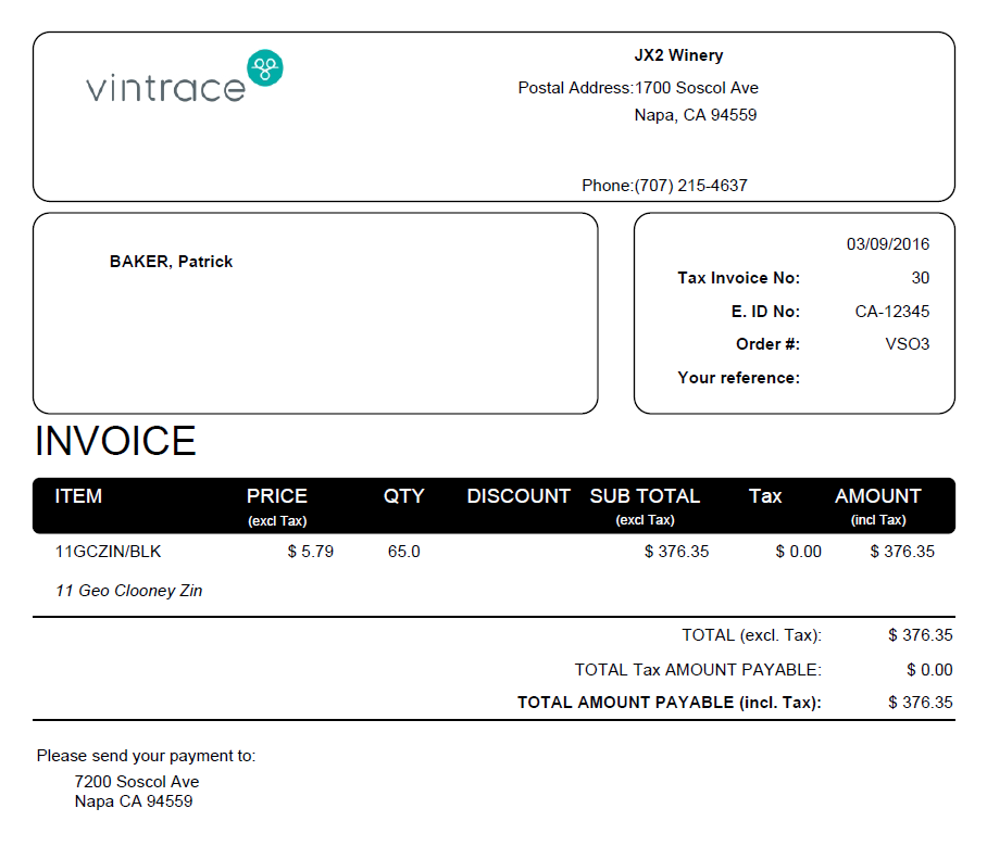 Invoice Generation Report - re-print all as pdf