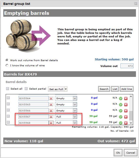 New barrels 12