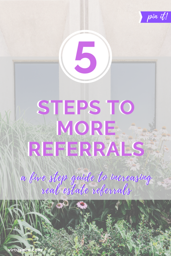 5 steps to more referrals
