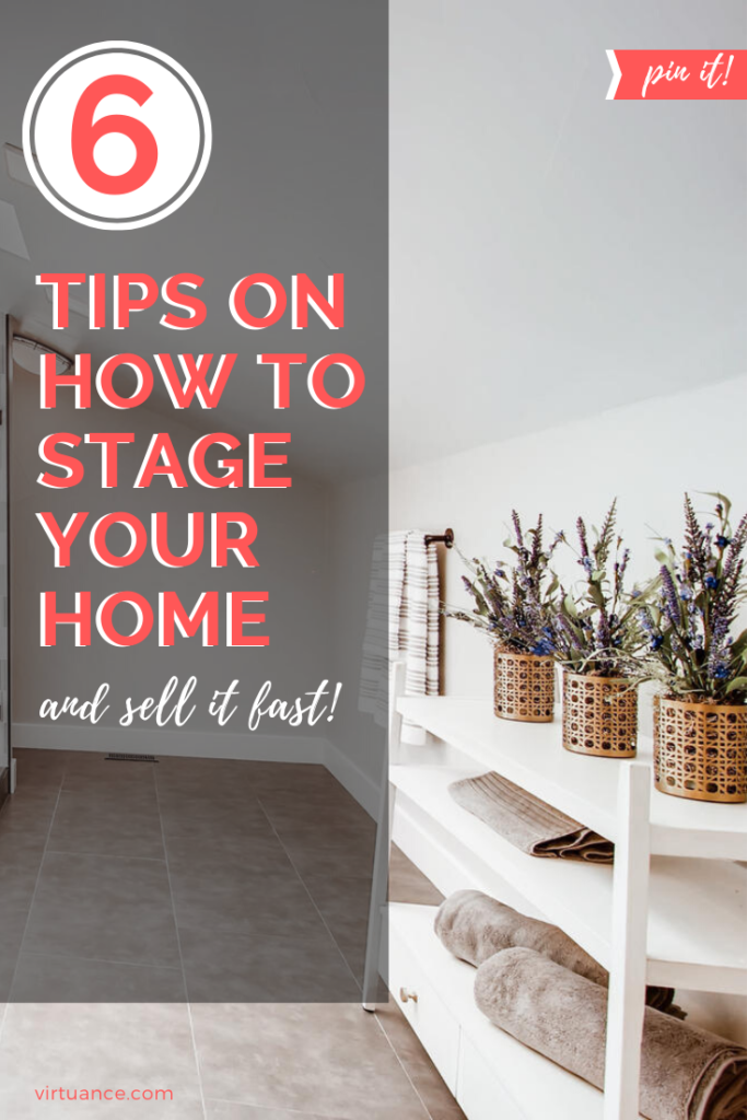 6 tips on how to stage your home