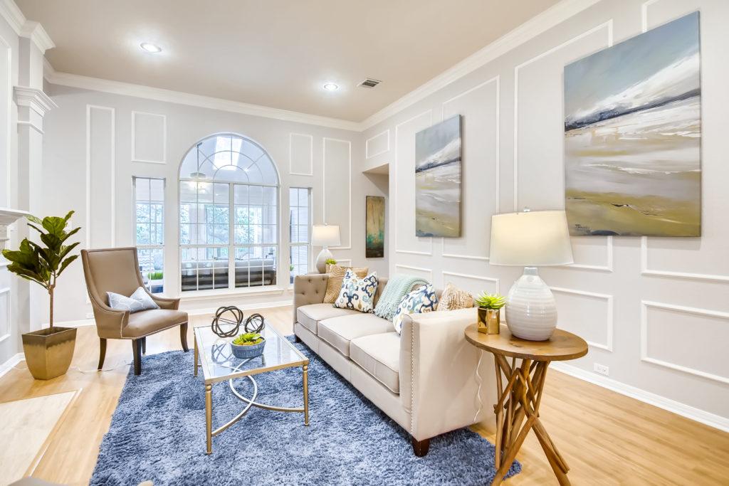 living room - staging - virtuance