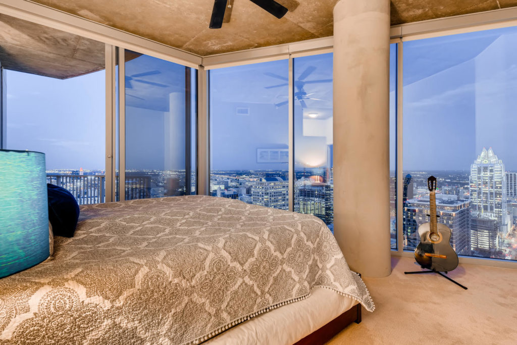 top listing images - virtuance - bedroom image of downtown loft space in Austin, Tx